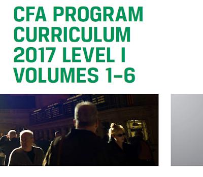 كتب CFA 2017