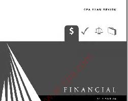 كتاب CPA – Financial