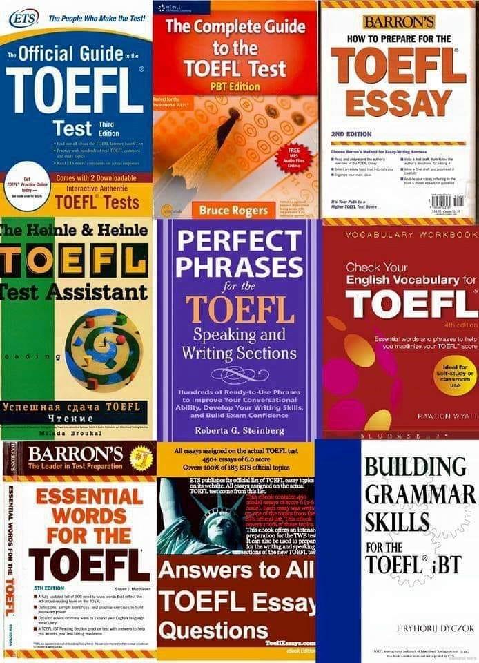 اهم الكتب عند التحضير ل TOEFL