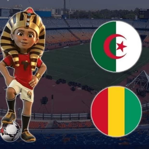 بث مباشر الجزائر وغينيا