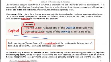 Lease (LOS 2020) شرح سامح الليثي 6