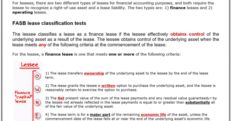 Lease (LOS 2020) شرح سامح الليثي 5