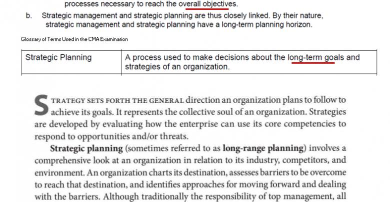 شرح Strategic planning سامح الليثي 2